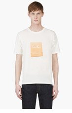 BAND OF OUTSIDERS Ivory Chateau Marmont T-Shirt for men