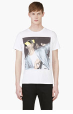 DIESEL White Printed T-Cover T-Shirt for men