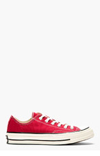 CONVERSE PREMIUM CHUCK TAYLOR Burgundy Red CHUCK TAYLOR ALL STAR '70 Sneakers for men