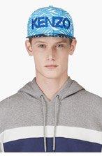 KENZO BLUE WAVE Print NEW ERA Edition CAP for men