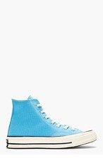 CONVERSE PREMIUM CHUCK TAYLOR Blue Chuck Taylor 70 High Top Sneakers for men