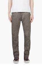 DIESEL Grey Darron-A Jeans for men