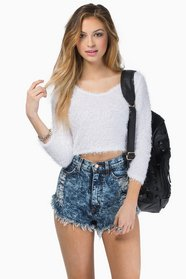 Cuddle Up Cropped Sweater