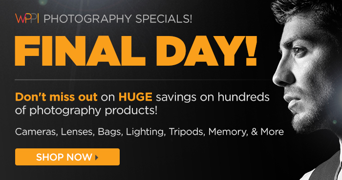Final Day For The Massive Photography Sale!