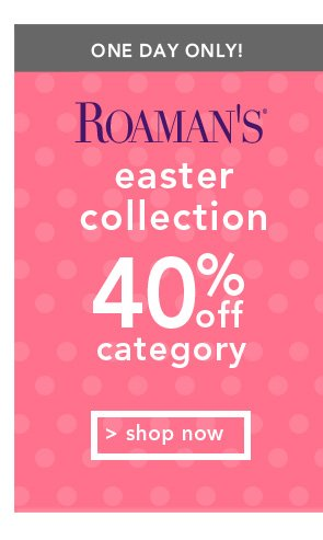 Shop Roamans Easter Collection