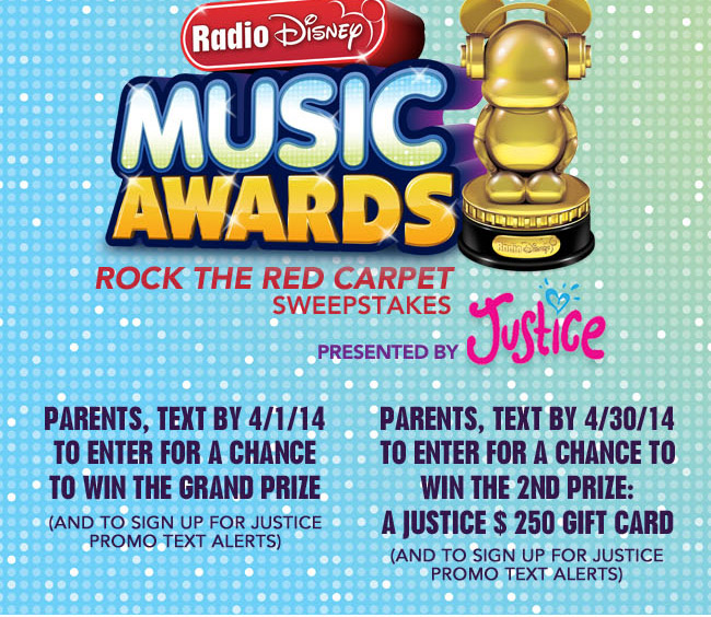 Radio Disney sweepstakes