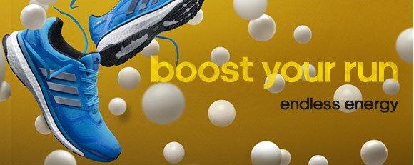 Shop Boost Shoes »