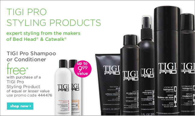TIGI Pro styling products