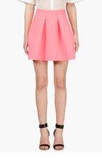 KENZO Pink Flared Neoprene Skirt for women