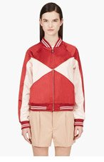 MARC BY MARC JACOBS Red & Pink Track Jacket for women