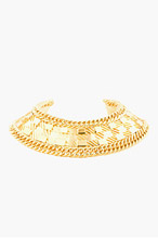BALMAIN Gold Yoke Choker for women