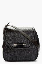 MACKAGE Black Pebbled Leather Cody Shoulder Bag for women