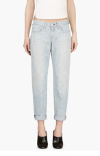 RAG & BONE Blue Boyfriend Jeans for women
