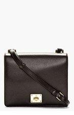 DOLCE & GABBANA Black Leather Sofia Shoulder Bag for women