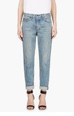 RAG & BONE Blue Faded Marilyn Jeans for women