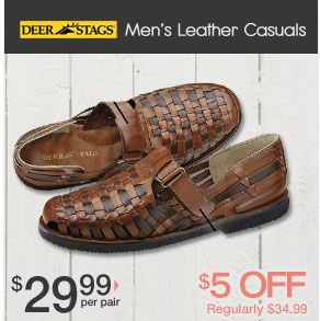 Shop Leather Casuals
