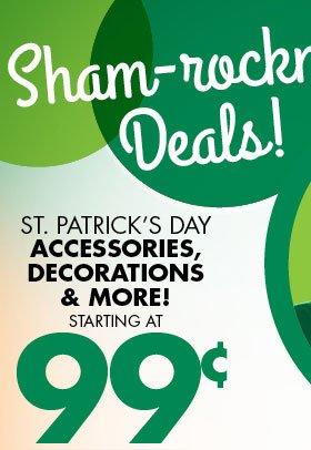 Sham-rockin' Deals!