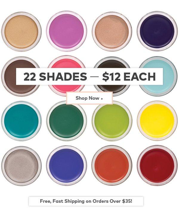 Inglot Cosmetics AMC Eyeliner Gel in 22 shades! $12
