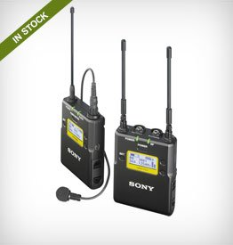 Sony UWP Integrated Digital Wireless Bodypack Lavalier Microphone Systems