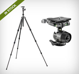 Gitzo Tripod Heads and Adapters with Quick Release D