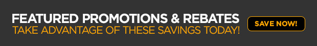 Featured Promotions and Rebates