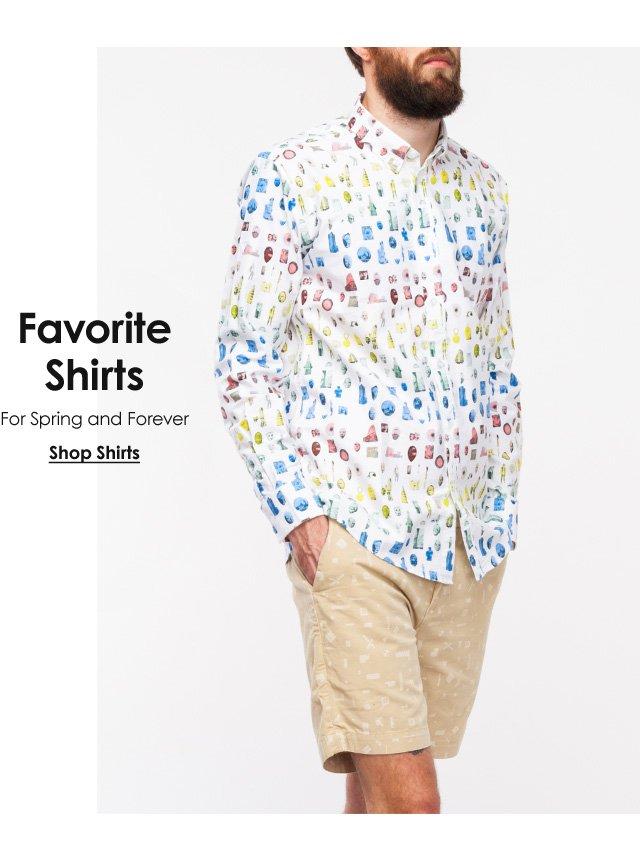 Favorite Shirts