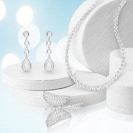 Shine at the Wedding: Sterling Jewelry