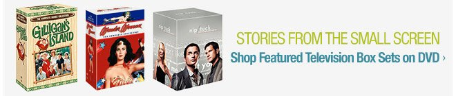 Stories from the Small Screen - Shop Featured Television Box Sets on DVD