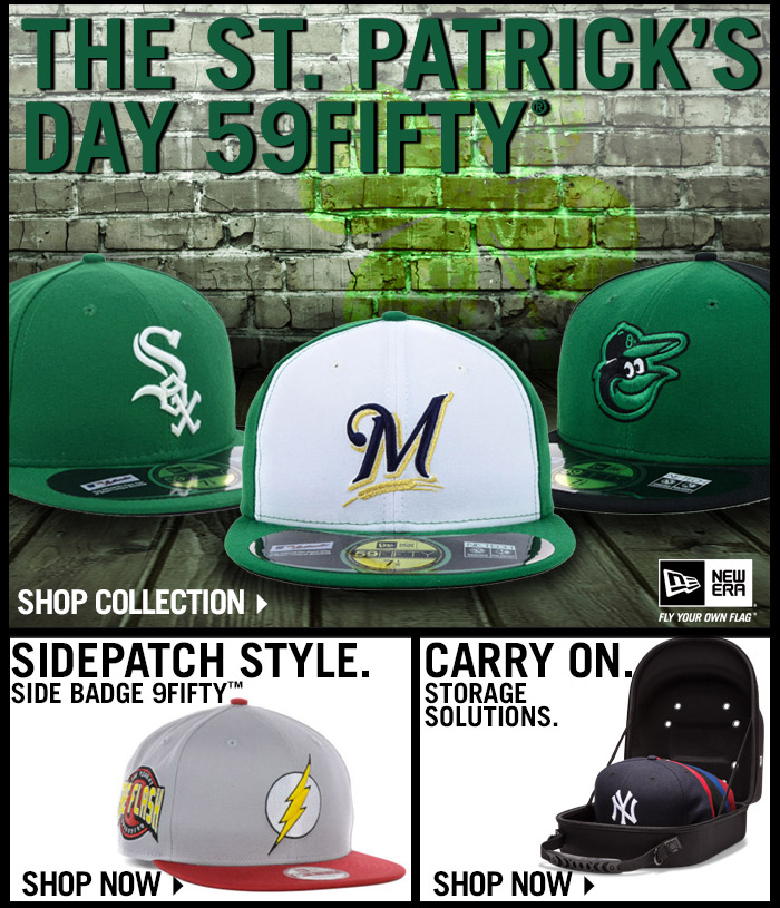Go Green! Shop the St. Patrick's Day Collection.