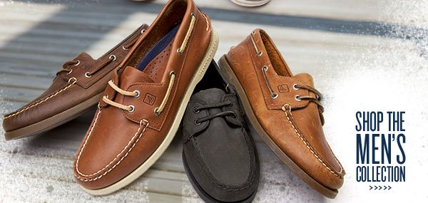 Leather Styles feat. Sperry Top-Sider. Shop mens.