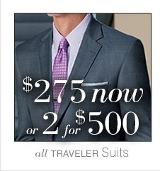 $275 now or 2 for $500 USD - Traveler Suits