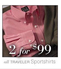 2 for $99 USD - Traveler Sportshirts