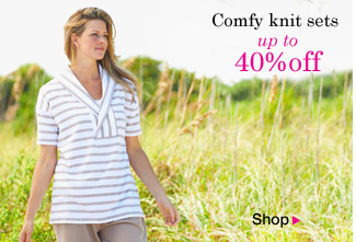 Knit sets up to 40% OFF