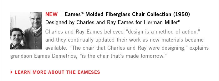LEARN MORE ABOUT THE EAMESES