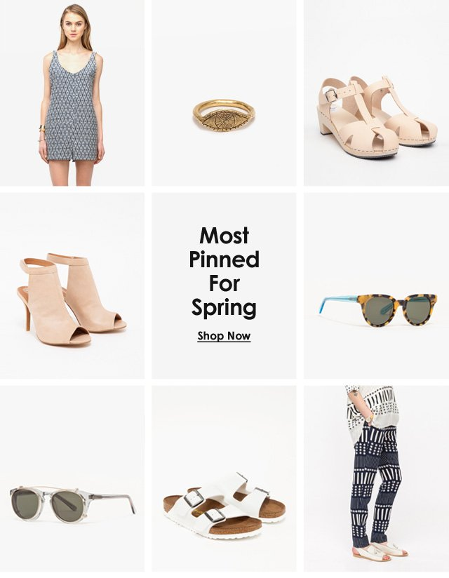 Most Loved For Spring