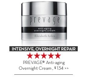 INTENSIVE, OVERNIGHT REPAIR. PREVAGE® Anti-aging Overnight Cream, $134.