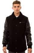 The 30 Wool Blend Coachmen's Jacket in Black