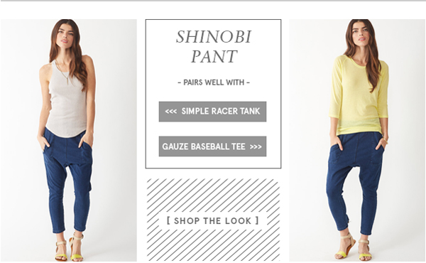 Shinobi Pant