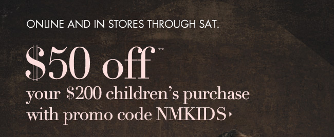 $50 OFF NM Kids!