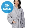 HOMESUITE™ COLLECTIONS ROBE & SLIPPER SET