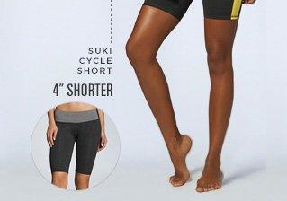 4 inches shorter