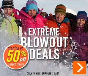 Extreme Blowout Deals