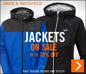 Warm & Waterproof Jackets on Sale