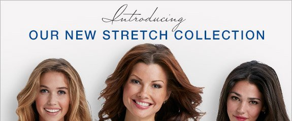 Introducing our new stretch collection.