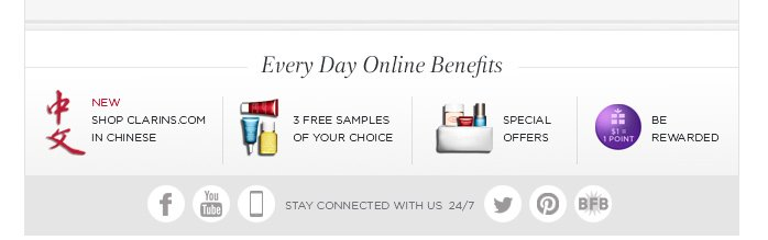 Every Day Online Benefits