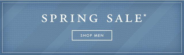 SPRING SALE - SHOP MEN