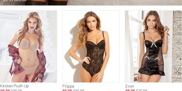 Browse for lingerie