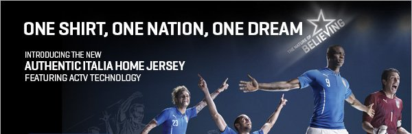 ONE SHIRT, ONE NATION, ONE DREAM