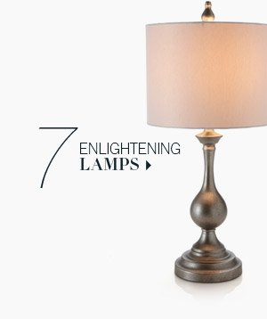 7. Enlightening Lamps