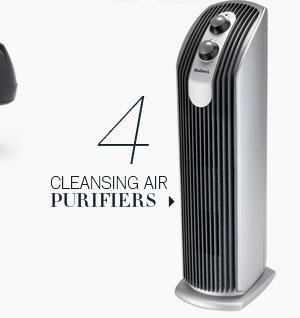 4. Cleansing air purifiers